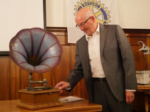 Lasst hören aus alter Zeit: Referent Anton Schwingruber