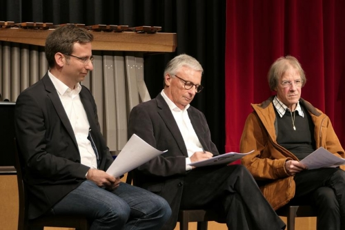 Juroren: David Koch - Ives Illi - Franz Schaffner