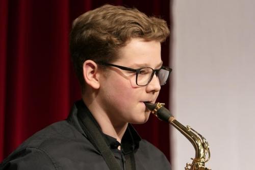 Julian Amrein, Alt-Saxophon